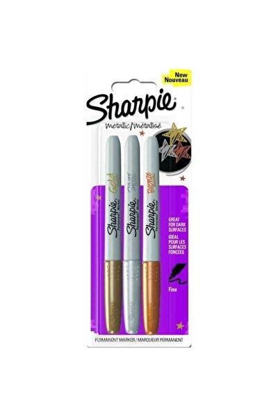 Sharpıe Karışık 3 Renk Metalik Markör Kalem
