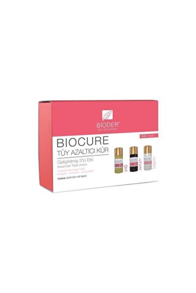 Biocure Tüy Azaltıcı 3x5 Ml Yüz Kürü