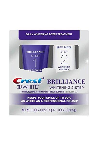 3d White Brilliance 2 Adımlı Beyazlatıcı Diş Macunu