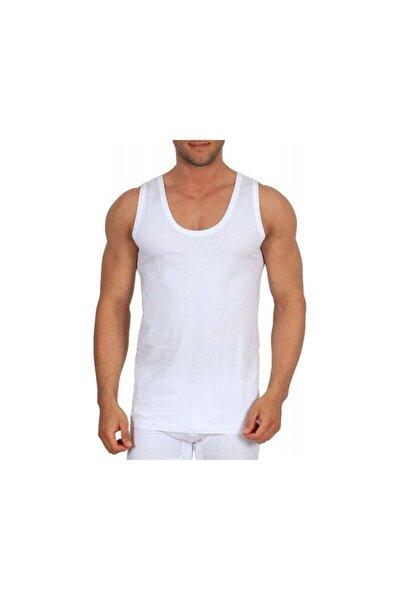 Erkek Beyaz 0101 Penye Atlet 3 Adet