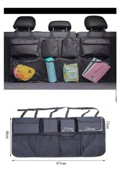 Shelay Design Araç Içi Bagaj Eşya Düzenleyici Oto Bagaj Organizer 8 Cepli Fileli She24