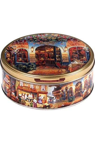 Tereyağlı Kurabiye Avrupa Desenli Metal Kutu 150g
