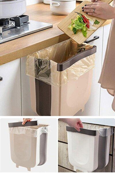 Askılı Portatif Katlanabilir Çöp Kovası