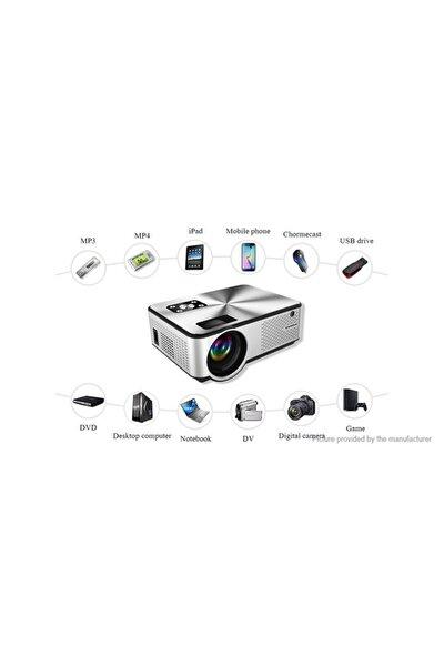 Yeni Cheerlux C9 Smart Tv,netflix,youtube,android, Ois,wifi&,full Hd Projeksiyon Cihazı