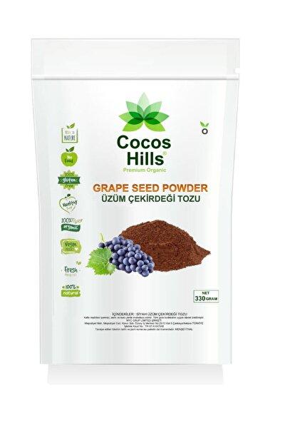 Cocos Hılls Siyah Üzüm Çekirdeği Tozu 330 gram