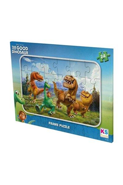 Good Dinosaur 24 Parça Frame Puzzle /