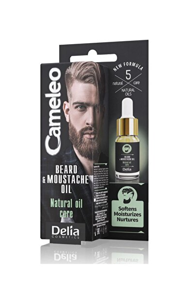 Cameleo Beard & Moustache Sakal ve Bıyık Serumu 10 ml