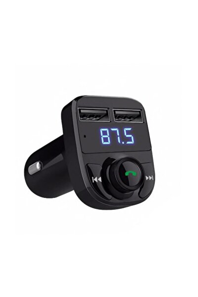 Carx8 Bluetooth Çift Usb Sd Kart Girişli Fm Transmitter