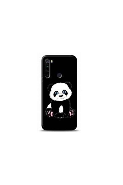 Xiaomi Redmi Note 8 Panda Siyah Koleksiyon Telefon Kılıfı Y-syhklf076