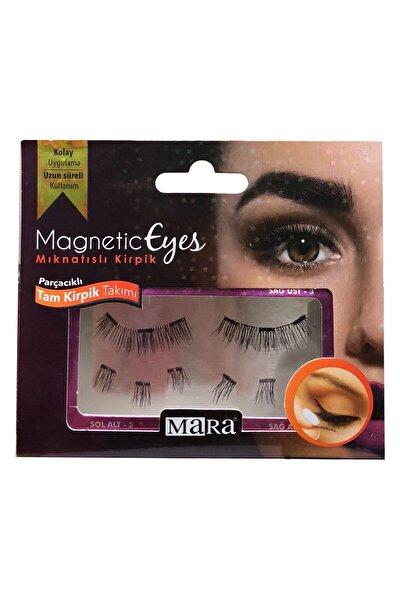 Magnetic Eyes Mıknatıslı Tam Kirpik Takımı-parçalı