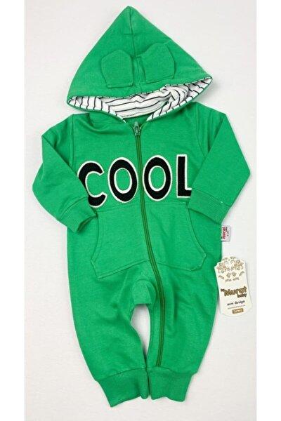 Erkek Bebek Yeşil Cool Tulum