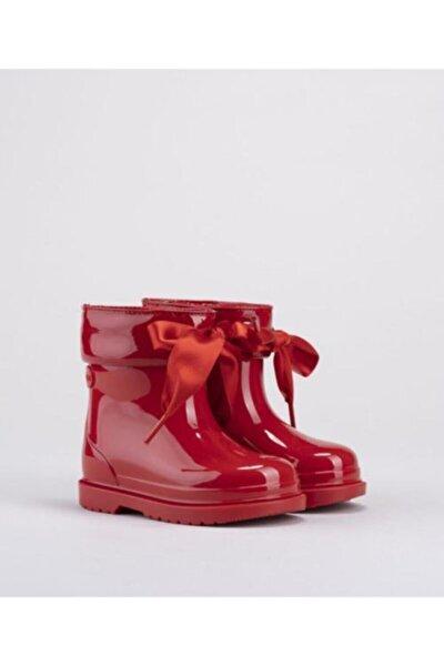 Kız Çocuk Kırmızı Yağmur Çizmesi