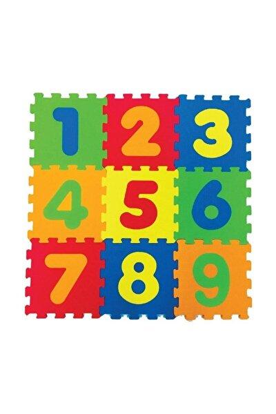 Eva Puzzle Oyun Karosu 33x33cm 7mm Rakamlar /