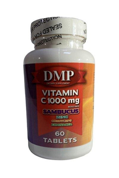 Vitamin C 1000 Mg Çinko Kara Mürver Cordyceps Ekinezya 60 Tablet C Vitamini