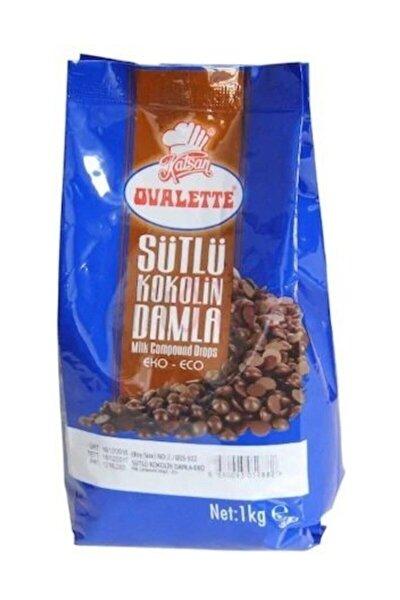 Sütlü Damla Çikolata 1 kg 2 Paket