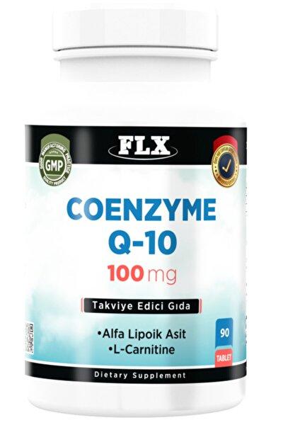 Coenzyme Koenzim Q-10 100 mg Alfa Lipoik Asit L-karnitin Coenzyme Q10 90 Tablet