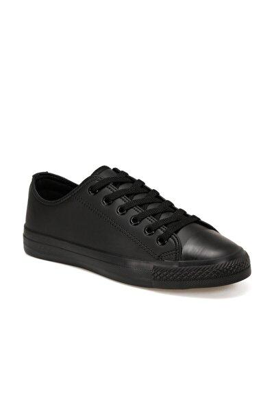 EC-2001 Siyah Erkek Kalın Tabanlı Sneaker 100668679