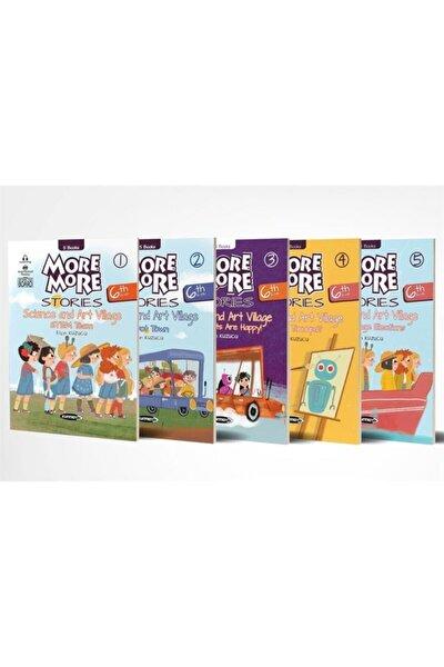 Kurmay More More Stories 6. Sınıf Ingilizce Hikaye Seti 5 Kitap