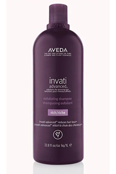 Invati Advanced Saç Dökülmesine Karşı Şampuan: Zengin Doku 1000ml 18084016831