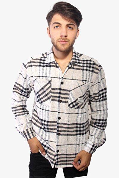 Erkek Siyah Oduncu Gömleği