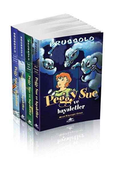 Unisex  Çocuk  Peggy Sue Ve   Serge Brussolo  Hayaletler Serisi Takım Set  4 Kitap
