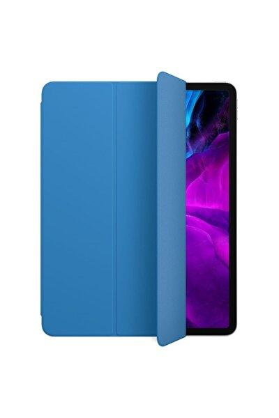 Ipad Pro 11 2.nesil 2020 Kılıf Pu Deri Smart Case A2228 A2068 A2230 A2231 Turkuaz