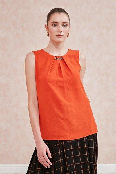 20yblz042 Bluz-orange