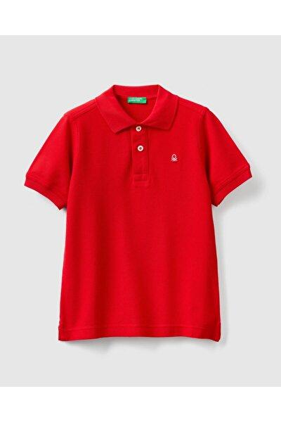 012 Benetton Logolu Polo Tshirt