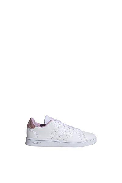 Kadın Beyaz Lila Sneaker Advantage K