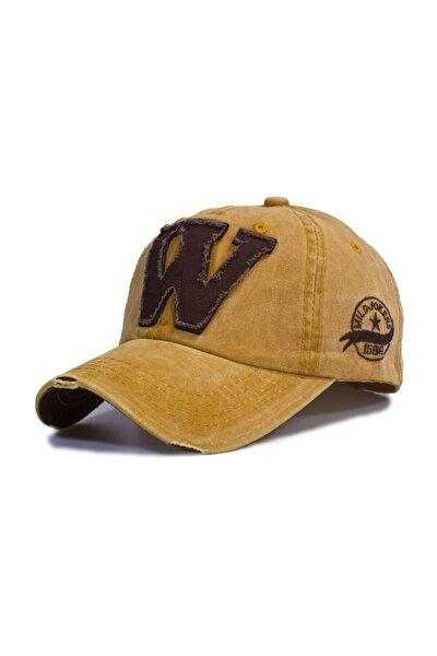 W Model Eskitme Şapka Sarı