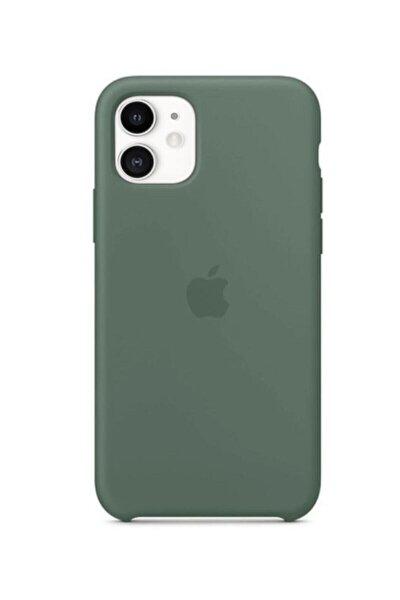 Iphone 11 Silikon Kılıf Çam Yeşili