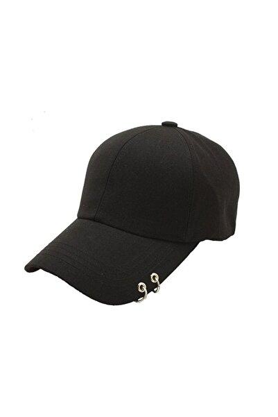 K-pop Bts Siyah Piercingli Şapka