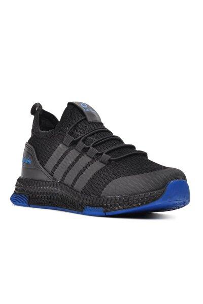 706 Siyah-saks Çocuk Spor Ayakkabı