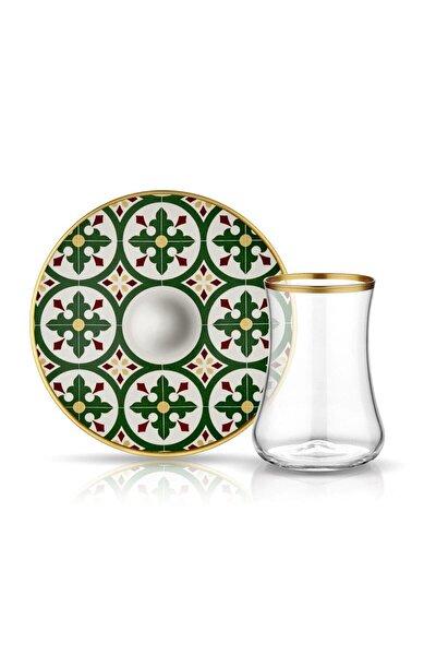 Dervish Karo Yeşil çay Seti 6 lı