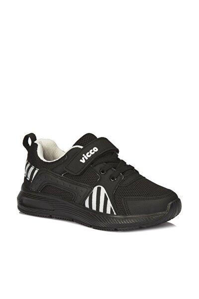 Weston Unisex Çocuk Siyah/beyaz Spor Ayakkabı
