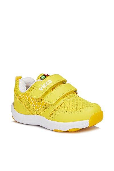 Dna Unisex Çocuk Sarı Spor Ayakkabı