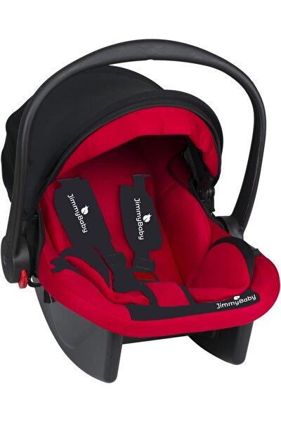 Kırmızı Lüx Pedli Bebek Taşıma Puset Anakucağı Oto Koltuğu