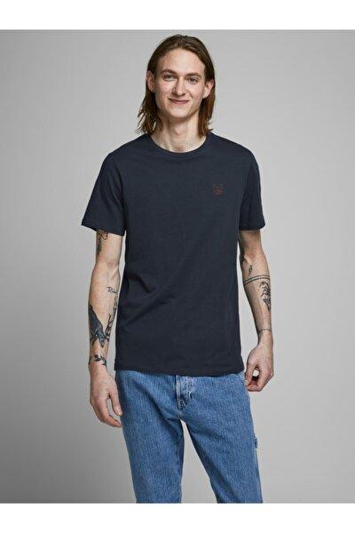 Erkek Gri Jack Jones Essentıals Tişört
