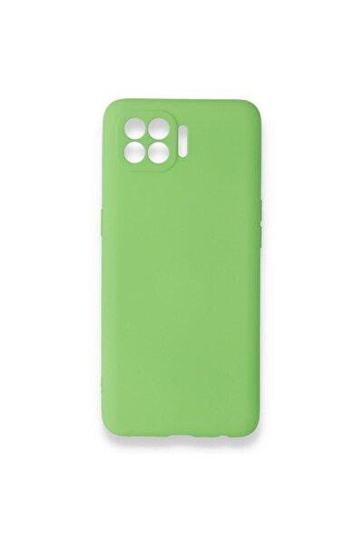 Reno 4 Lite Kılıf -prem Silikon - Yeşil