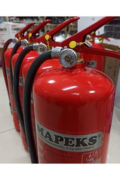 Kalite - 6 Kg Tozlu Yangın Söndürme Tüpü - Yeni Tip
