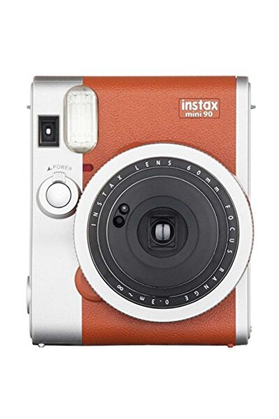 Instax Mini 90 Classic Kahverengi Fotoğraf Makinesi