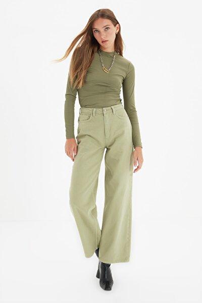 Mint Yüksek Bel Wide Leg Jeans TWOAW22JE0347
