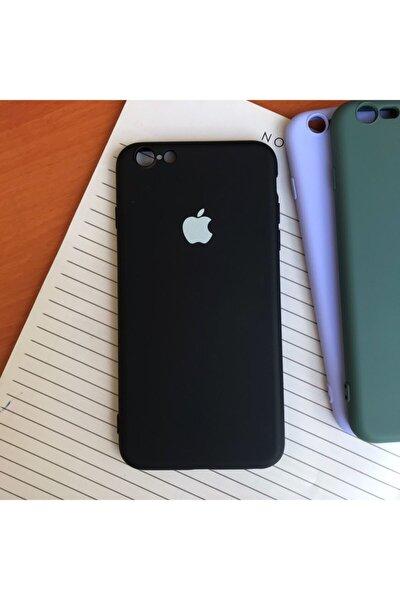 Iphone 6 Plus Model, Logolu Lansman, Içi Kadife Silikon Kılıf