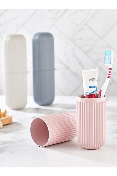 3 Adet Diş Fırça Kutusu Gözlük Kutusu Çok Amaçlı Organizer Kutu