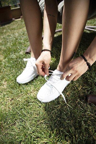 Beyaz Kadın Sneaker BM-4000-20-101001