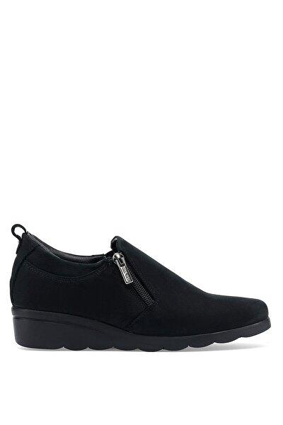 Yasen 1pr Siyah Kadın Dolgu Topuk Ayakkabı