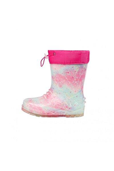 Emery 1pr Pudra Kız Çocuk Yağmur Çizmesi