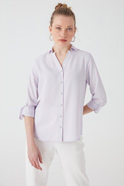 Kolu Apolet Detaylı Gömlek