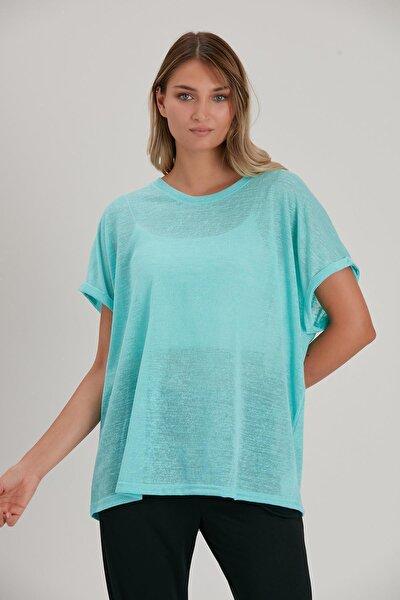 Dökümlü T-shirt (b21-35800)