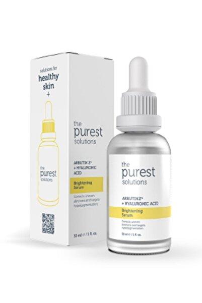 Leke Gidermeye Yardımcı Cilt Tonu Eşitleyici Cilt Bakım Serumu 30 ml Arbutin %2 + Hyaluronic Acid